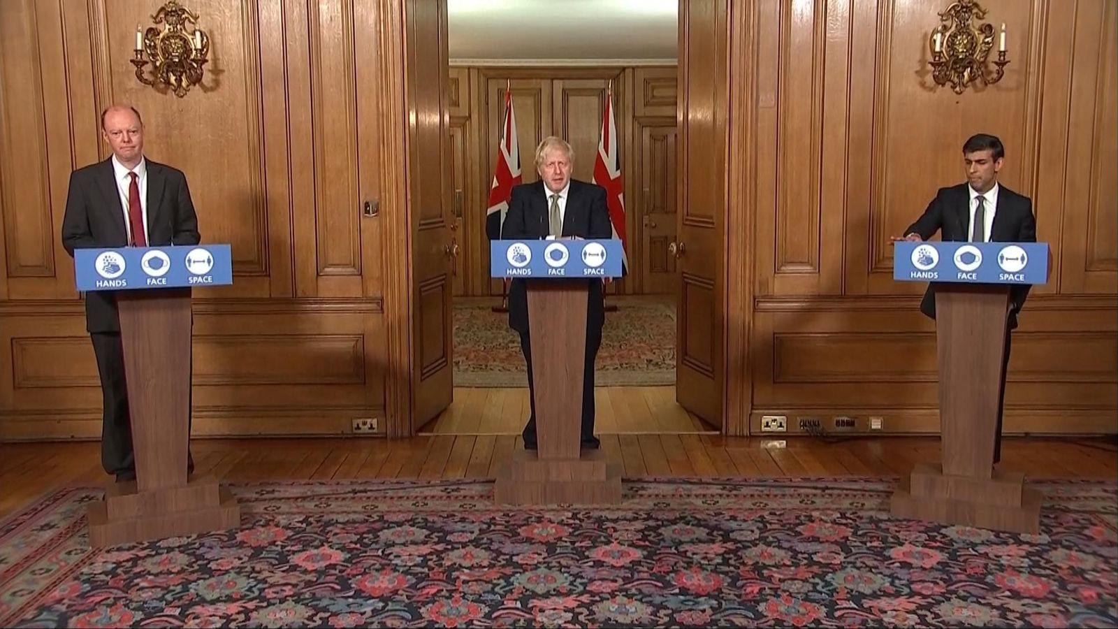 Coronavirus News LIVE – Boris Johnson Briefing Updates: Prime Minister outlines a three-tier insurance system   UK News