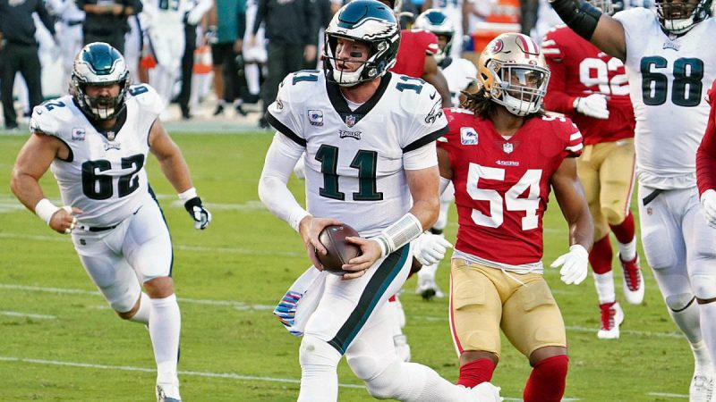 Eagles vs. 49ers: Live updates, game stats, highlights, TV channel and Sunday Night Football Live broadcasts