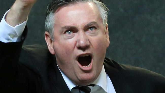 Eddie McGuire blows up on Australian Post's Kristen Holgate
