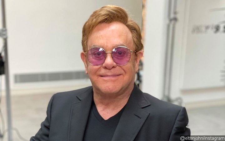 Elton John is proud to have his own Barbie doll