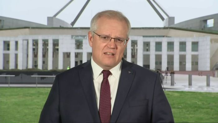 Federal Budget News 2020: Prime Minister Scott Morrison defends the government's record of caring for the elderly COVID-19