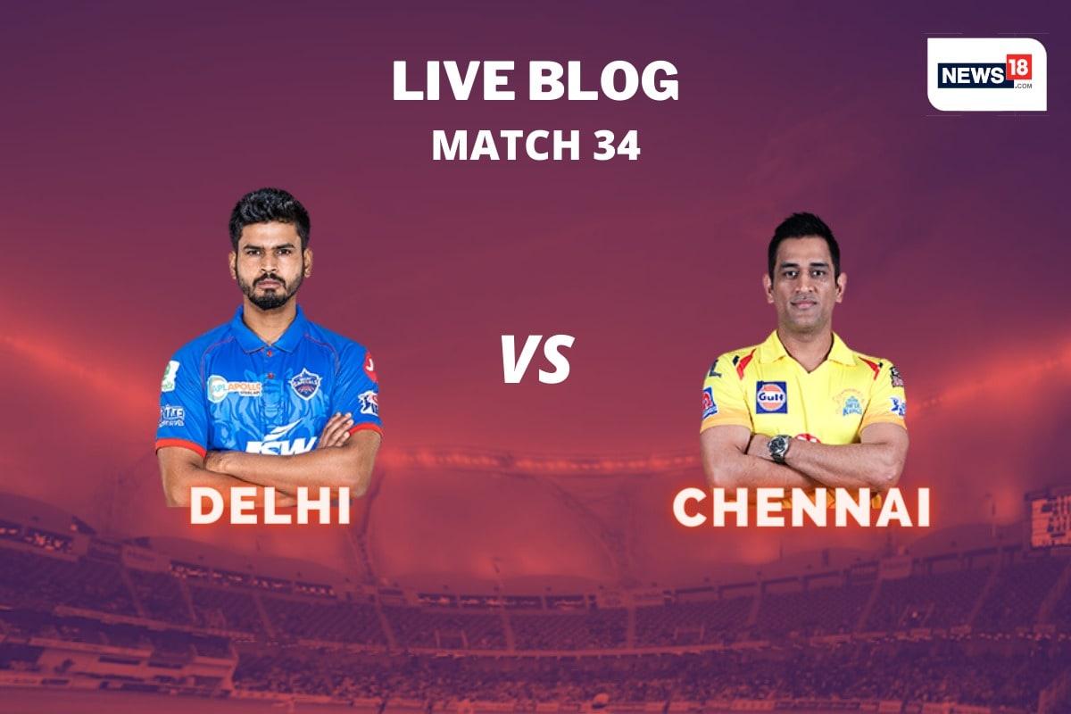 IPL 2020 Live Score, DC vs CSK Match of the Day in Sharjah: Shahar Eliminates Shaw, Rahana