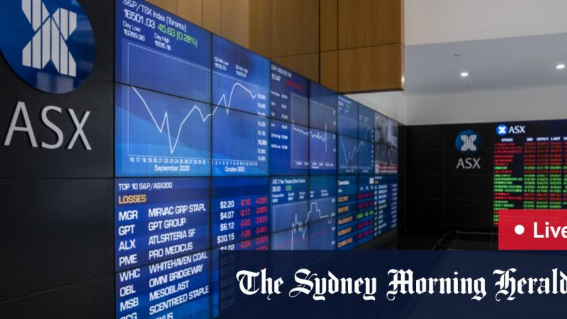 Live Markets, Monday 26 October 2020