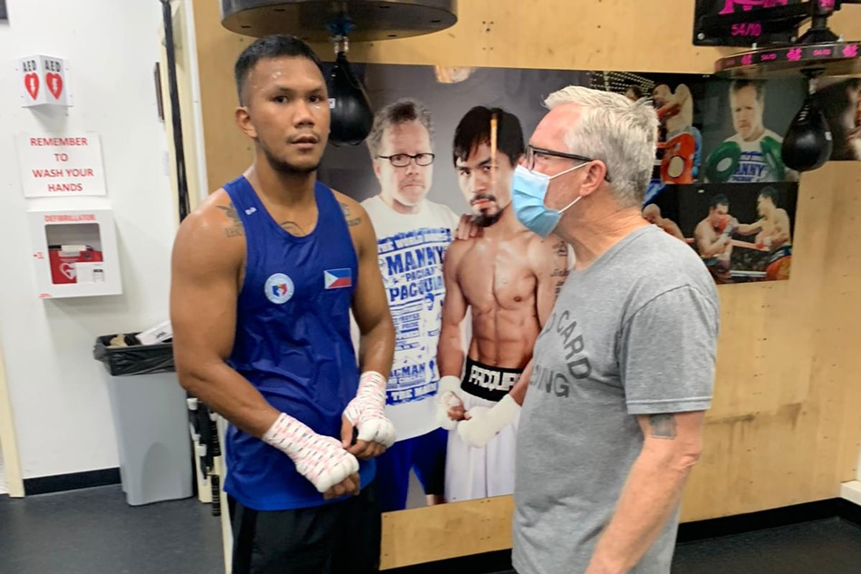 Look: Olympic boxer Omer Martial begins training with Roach
