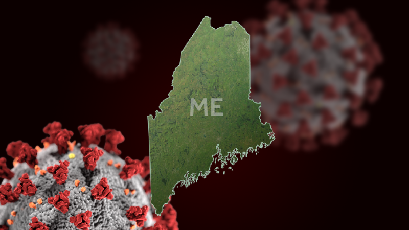 Maine sets a one-day record for new coronavirus cases