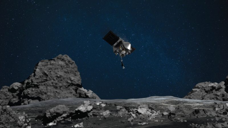 NASA is planning a short landing on asteroid Bennu