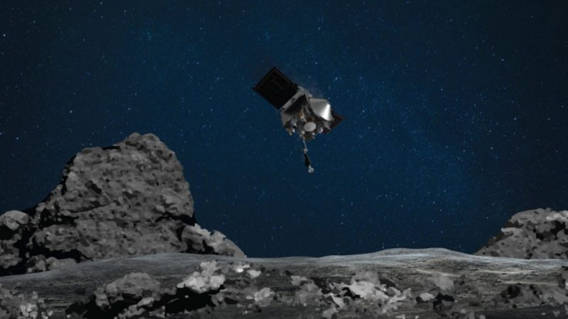NASA is upset when asteroid samples escape from a spacecraft