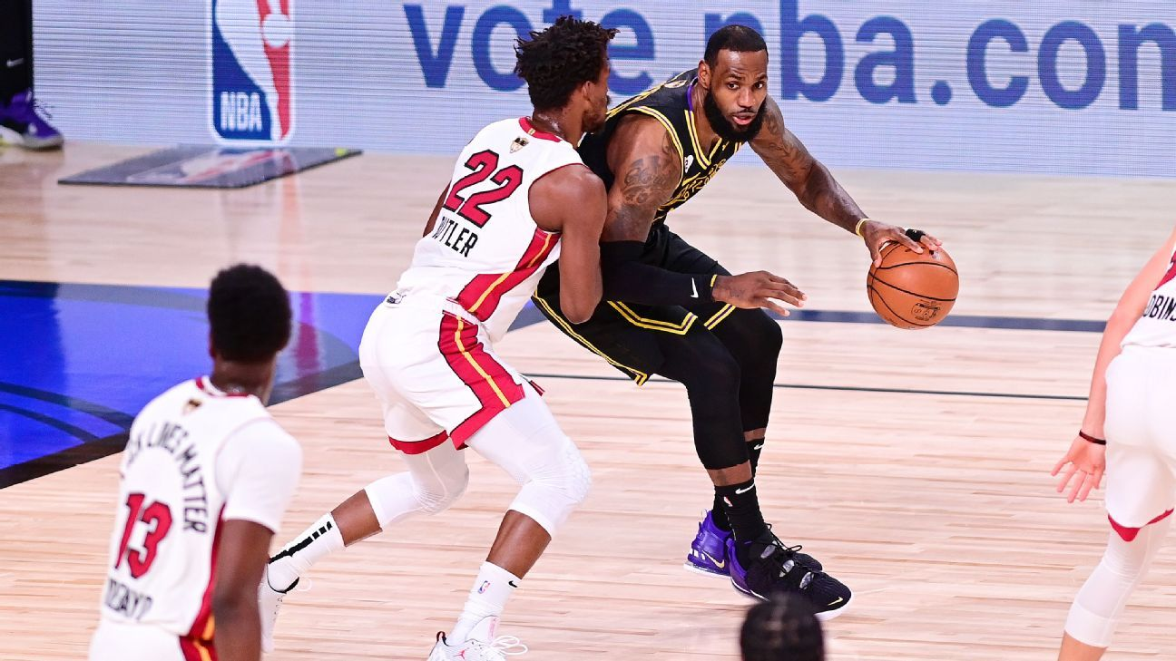 NBA Finals – LeBron James vs Jimmy Butler touches history