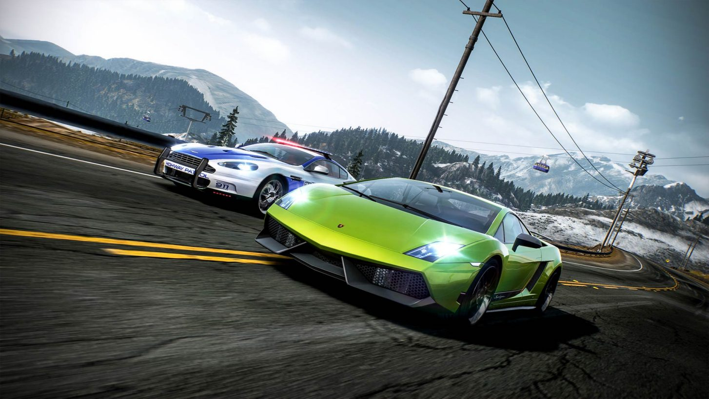 Need for Speed: Hot Pursuit Remastered looks the same on PC as the original early 2010 comparison shows