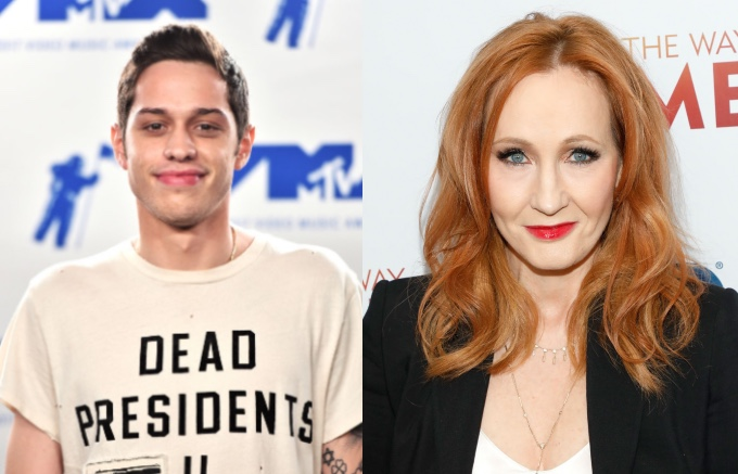 Pete Davidson is disappointed by J.K Rowling's transgender comments