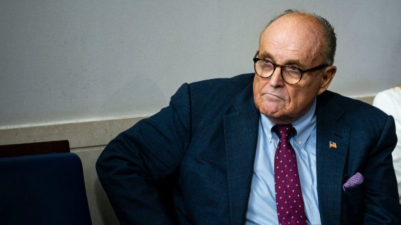 "Rudy Giuliani denies wrongdoing in the new ""Porat"" movie"