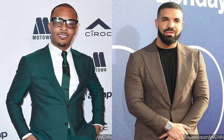 T.I. confirms his friend Peed to Drake on the new album, and the latter follows suit