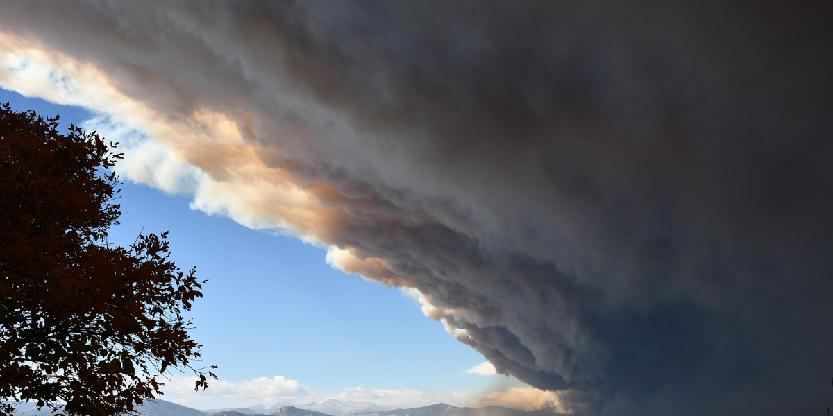 The Cameron Peak fire burns 20,000 acres in one day, and now it is the largest fire in Colorado history