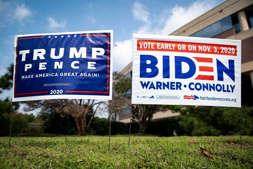 Yard expects the support of US President Donald Trump, Democratic presidential candidate, and former Vice President Joe Biden