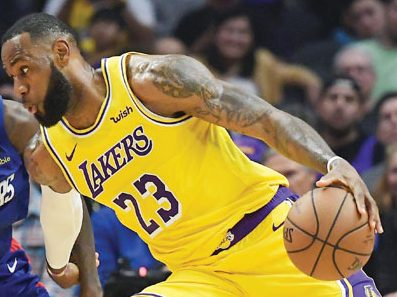 The Lakers lead the Heat 102-96 and lead 3-1 in the NBA Finals - Salisbury Post