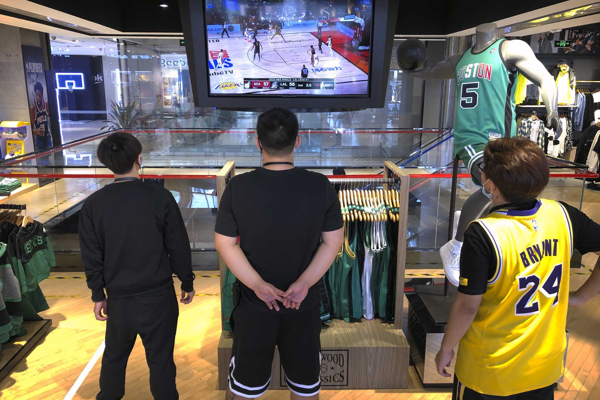 The NBA returns to Chinese state television after a one-year ban