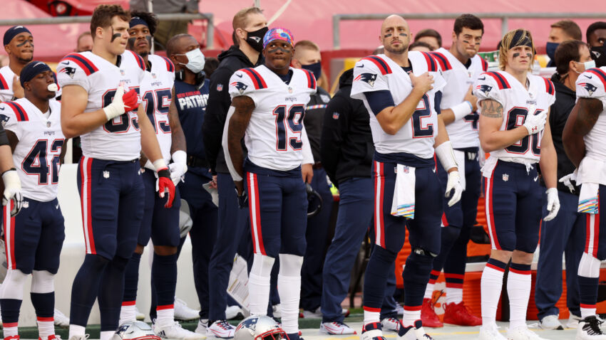 The Patriots detailing the gaming experience after Cam Newton was infected with the COVID-19 virus