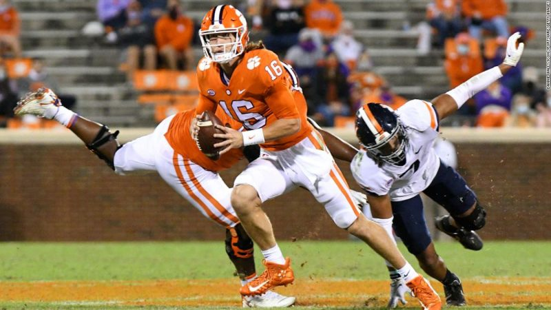 Trevor Lawrence tests positive for Covid-19, and will not play Saturday against Boston College