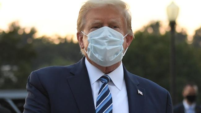 """US President Donald Trump wrote on Twitter, """"It feels great"""" and compares Covid to influenza"""
