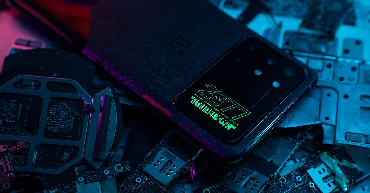 OnePlus' Cyberpunk 2077-themed 8T has one of the largest camera modules I have ever seen