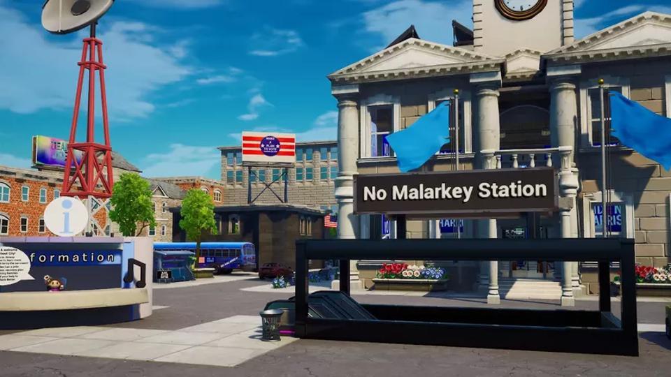 Biden does Malarkey station in two weeks