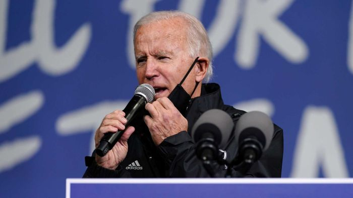 """Live US Election Updates: Biden slams Trump for his """"infamous"""" claims about the validity of the election"""