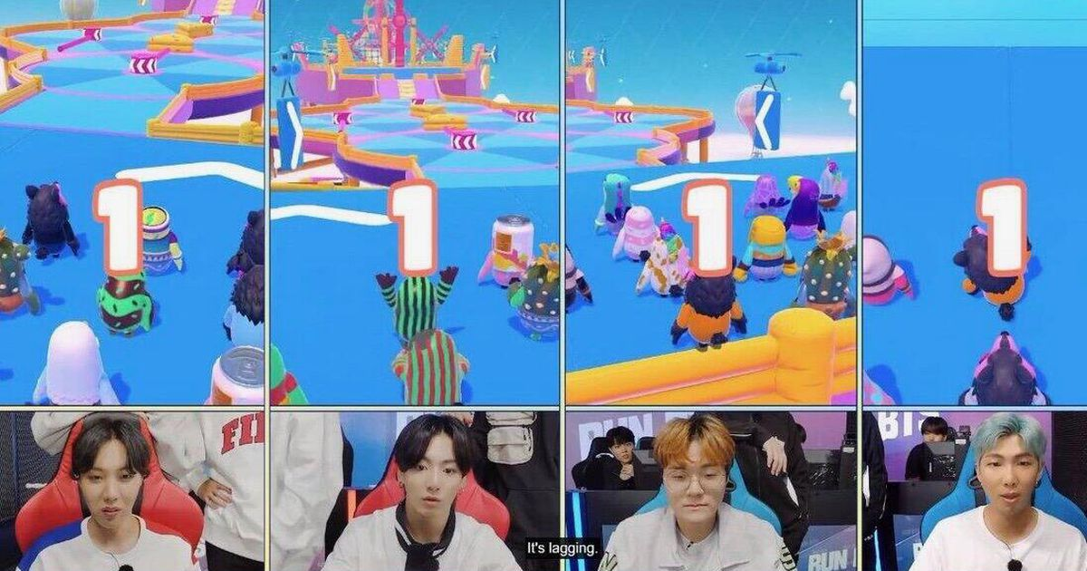 BTS will be playing the battle royale Fall Guys game show in its web series