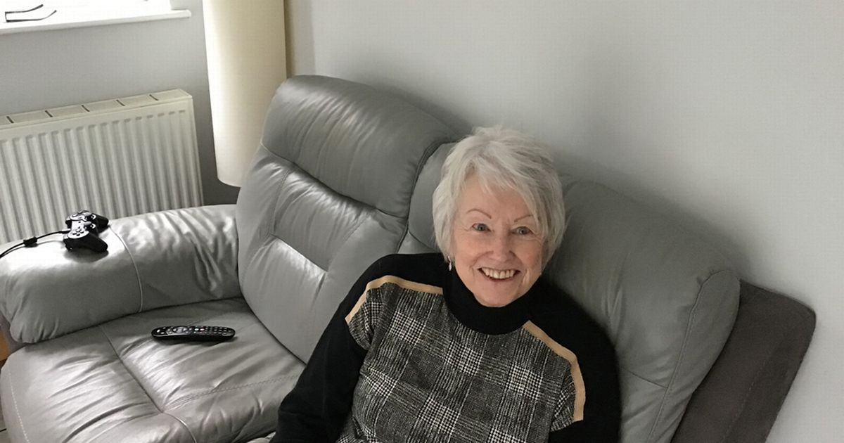 A grandmother who is addicted to video games reveals how she used to play with her consoles for eight hours a day