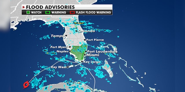 Tropical Storm ETA continues to bring torrential rain to parts of South Florida.