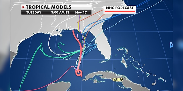 Prediction models show that there is still some uncertainty about where ETA might go.
