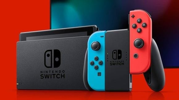 Best tech giveaway of 2020: Nintendo Switch