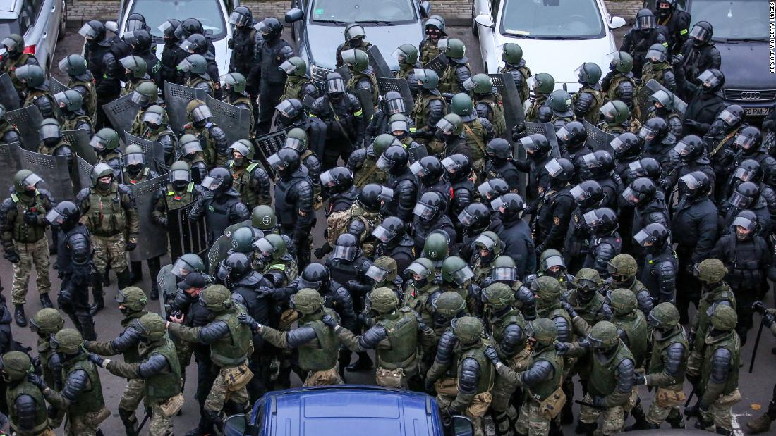 At least 1,000 people were detained in Belarus in one day after the death of a protester