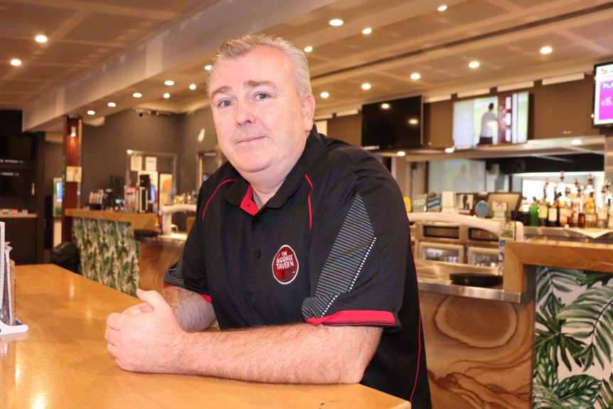 Publican Harry Barry said his best incentive would be when the venues' carrying capacity would be raised.