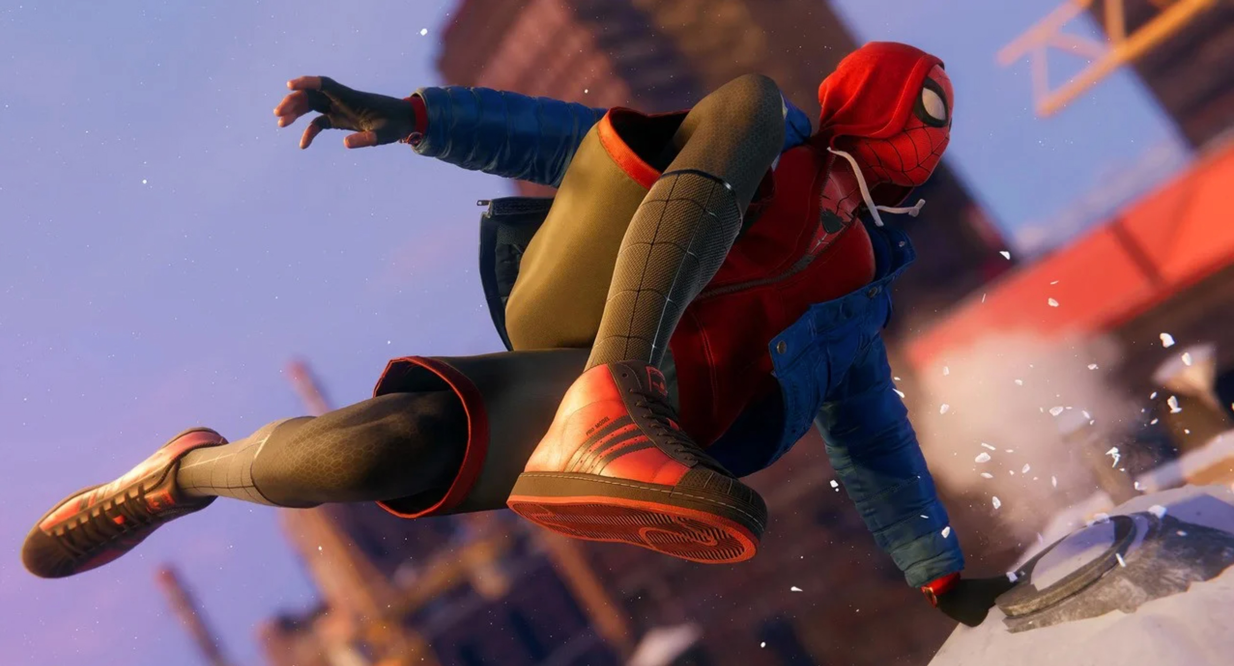 Spider-Man inclination of morality