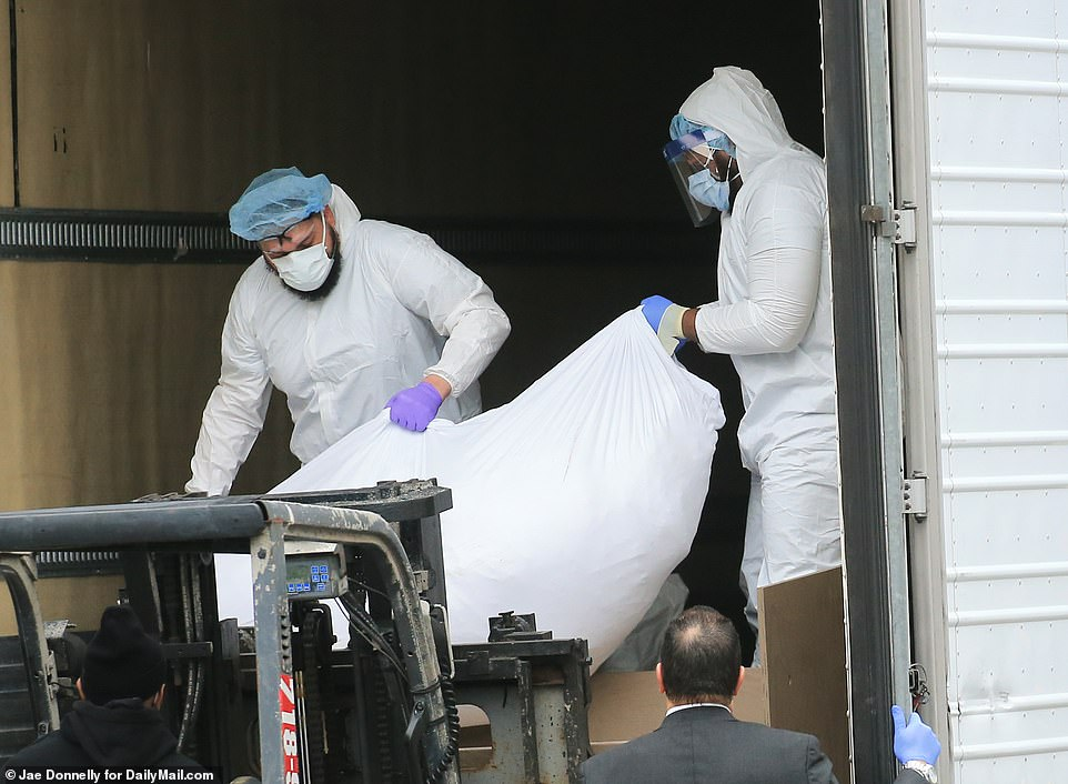 With the arrival of the coronavirus pandemic in March, New York City mortuary and cemeteries are overcrowded and frozen trucks have been installed to house additional bodies.