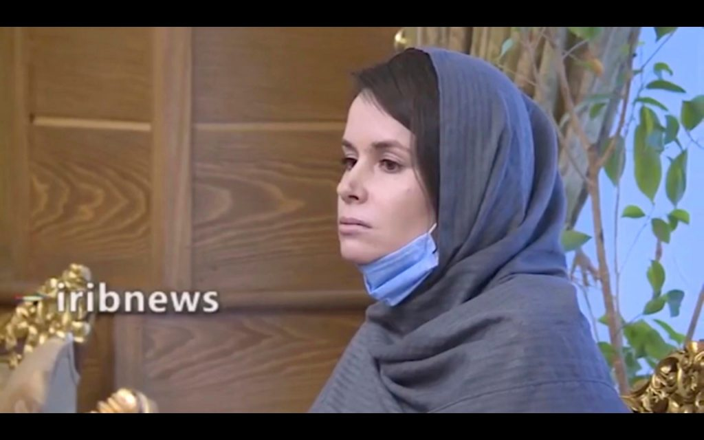 A woman was released in Iran in a hostage exchange deal, who was arrested for her Israeli history