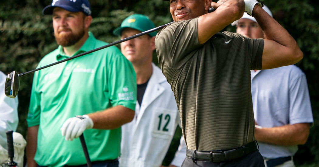 2020 Masters: Tiger Woods leads Paul Casey with three shots