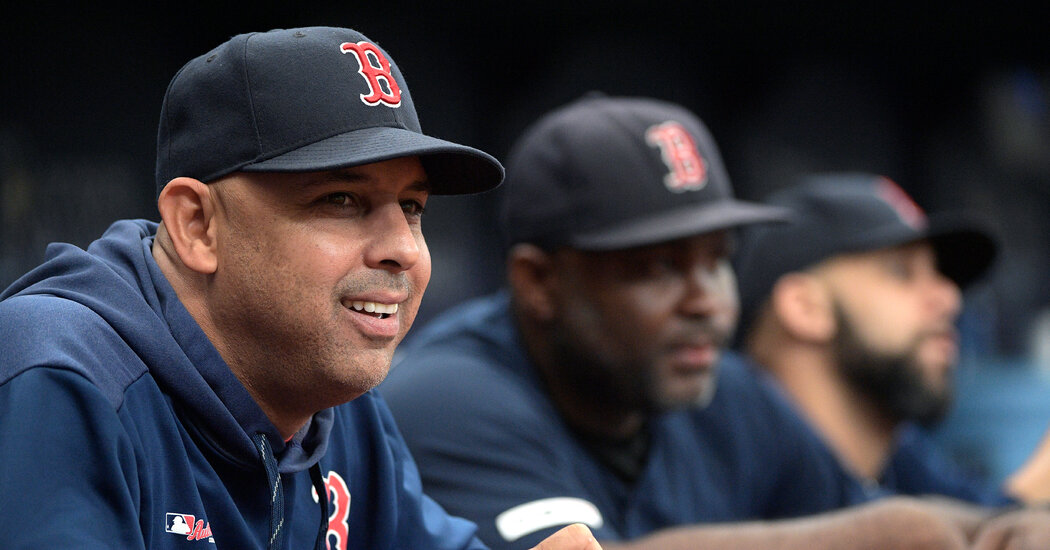 Alex Cora returns to the Red Sox