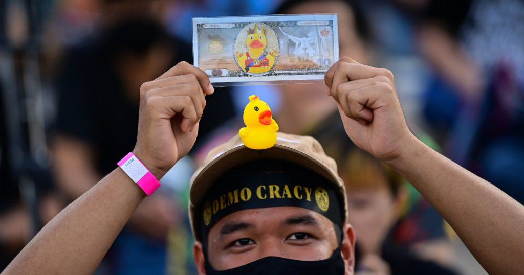 Money, money, money: Thais rally in Bangkok over royal wealth |  Thailand