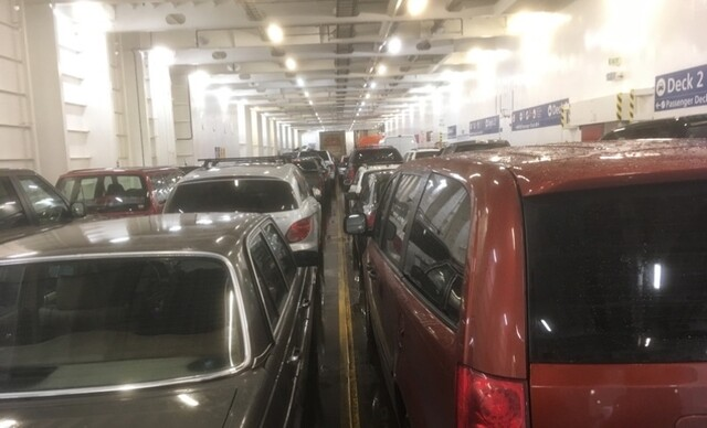 More than 1,000 reports of people never leaving their cars on BC Ferries - BC News