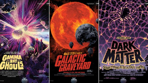 NASA's new poster shares the galactic horror for Halloween