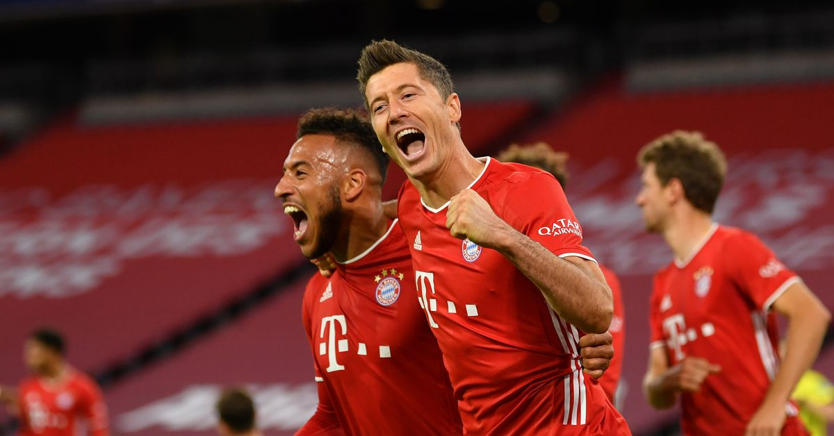 Salzburg vs Bayern Munich: Mulardona's mistake in the penalty area - Lewandowski scores an equalizer from the penalty spot