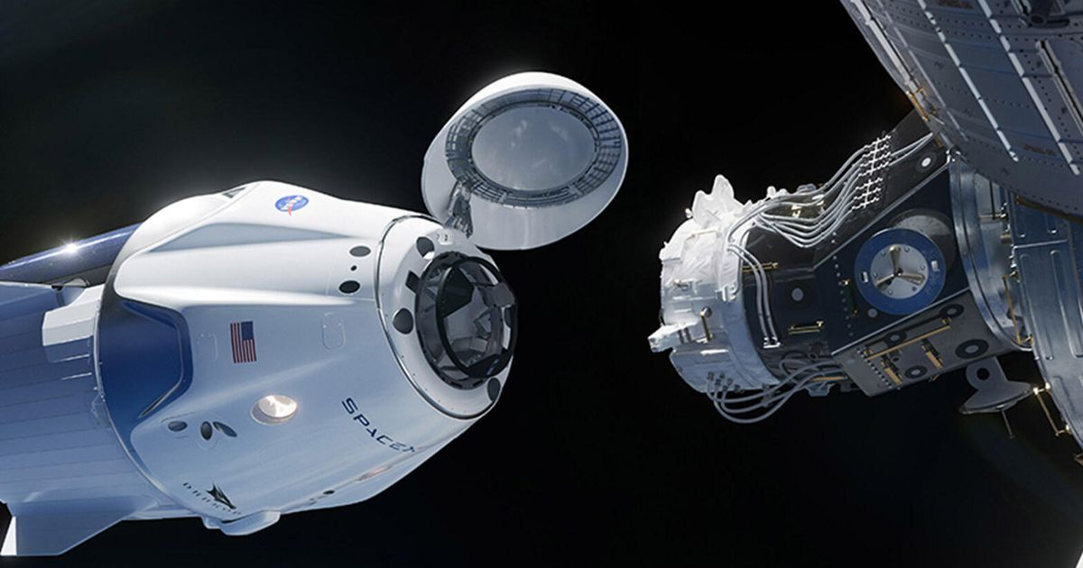 The SpaceX and NASA Crew-1 mission dock with the International Space Station for a period of six months