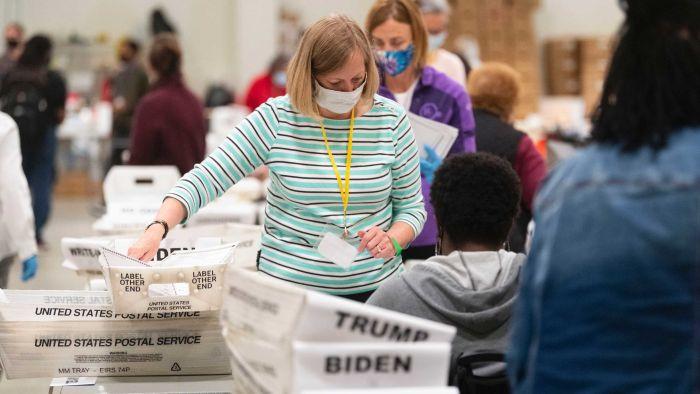 US Election Updates: Hand-held recount in Georgia confirms Joe Biden's victory over Donald Trump
