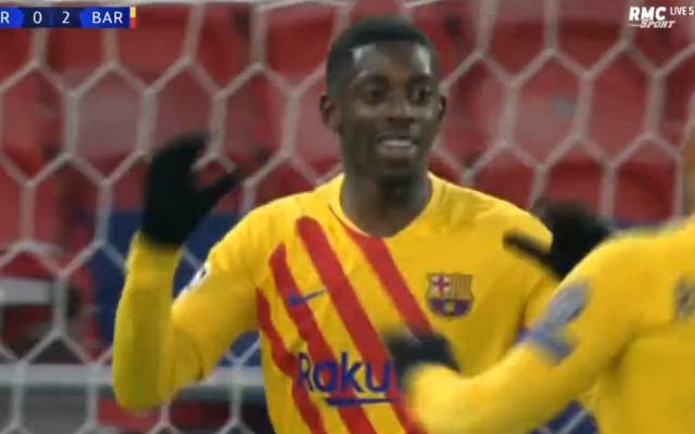 Manchester United pay off Dembele strikes to Barcelona in the English Premier League