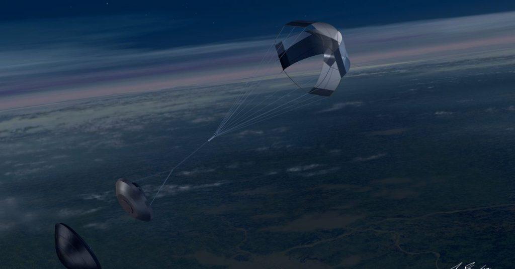 A Japanese asteroid sample return mission lands in the Australian desert