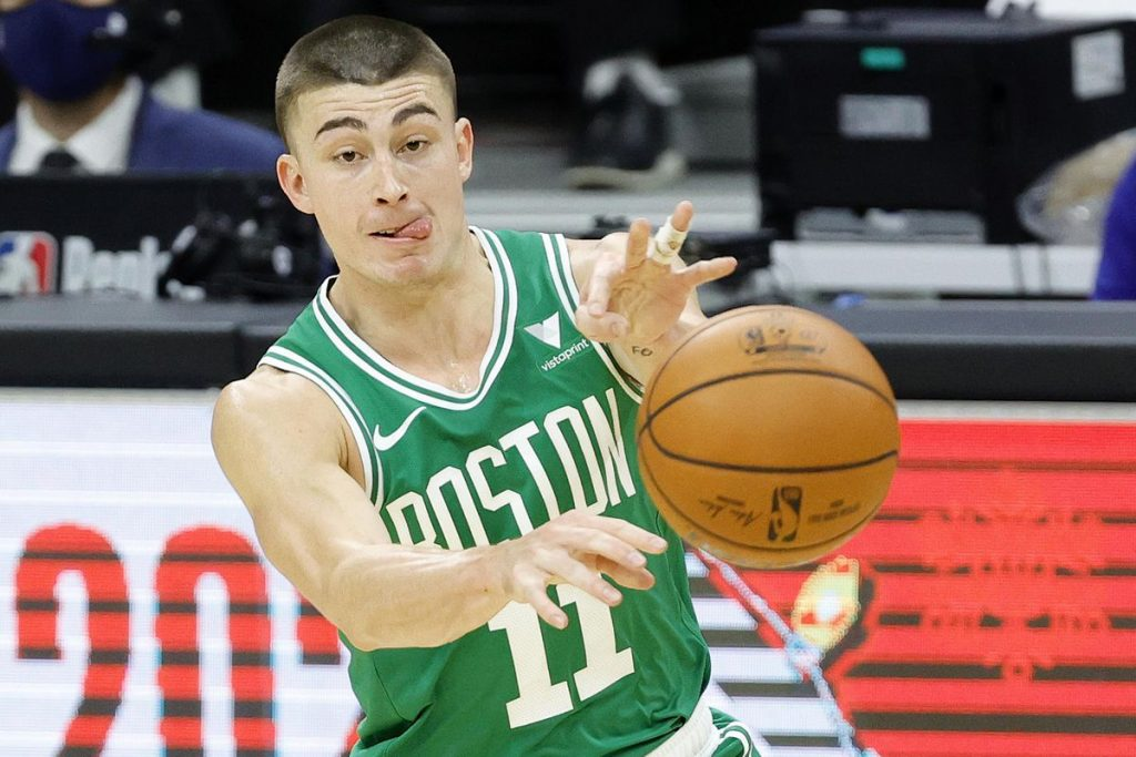 Rookie Payton Pritchard is putting extra pressure on the Boston Celtics' depth chart