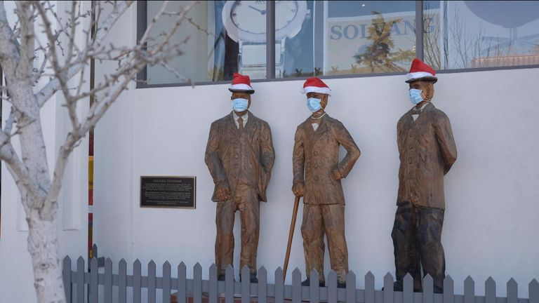 Solvang says it wants to support the business during the holiday season