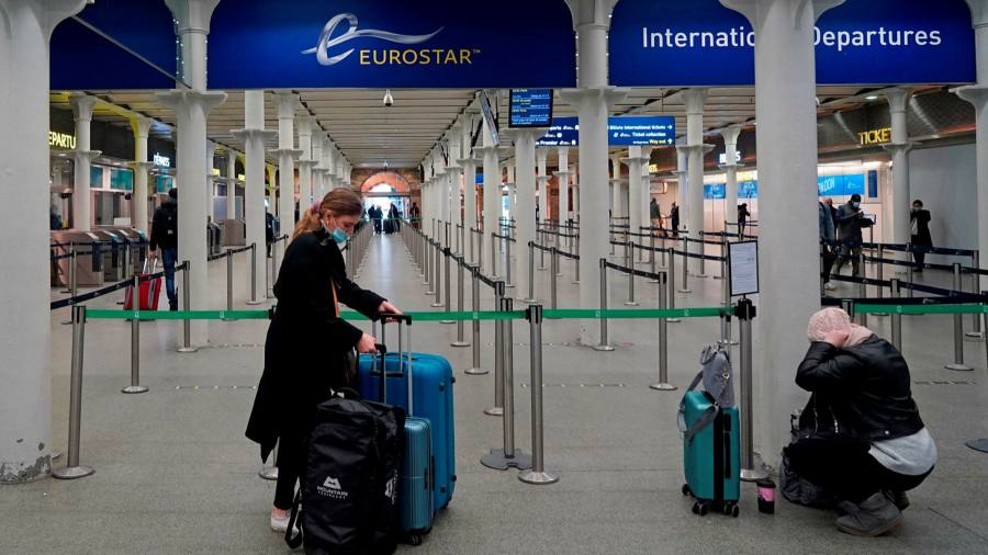European Union countries are banning travel from the UK after a new virus strain spread