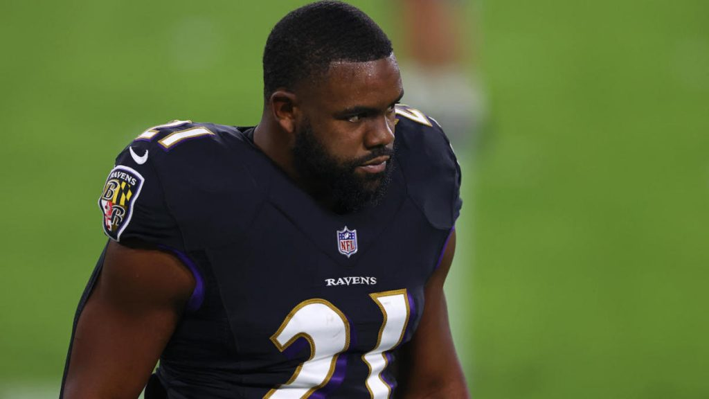 Ravens' Mark Ingram healthily scratched for their Week 15 match with Jaguars